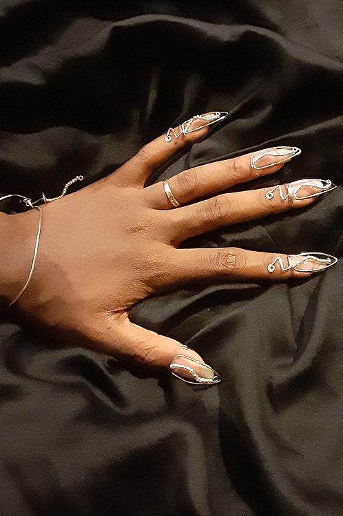 Kinetic Nail Rings