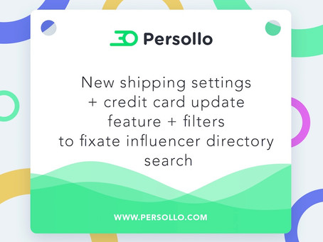 Product Update: Introducing new shipping settings + a credit card update field + filters that fixate