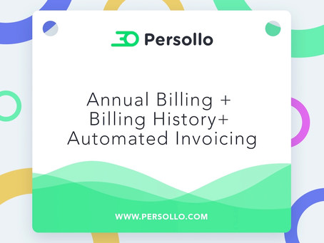 Product Update: Annual Billing + Billing History + Automated Invoicing