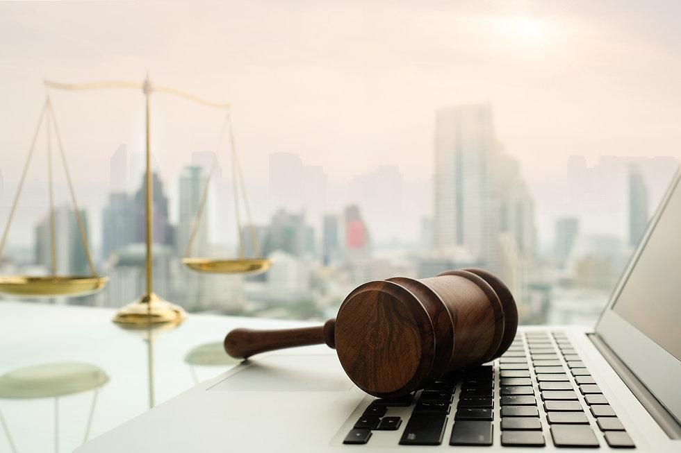 law legal technology concept.  judge gav