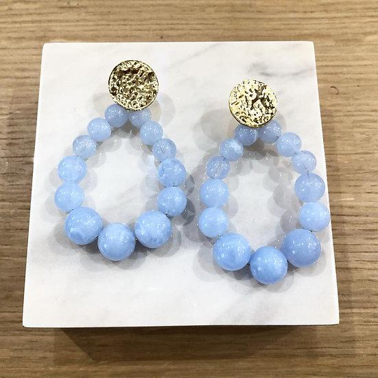 BOUCLES NINA (bleu)