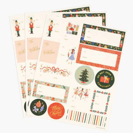 SET DE 45 STICKERS (rouge)