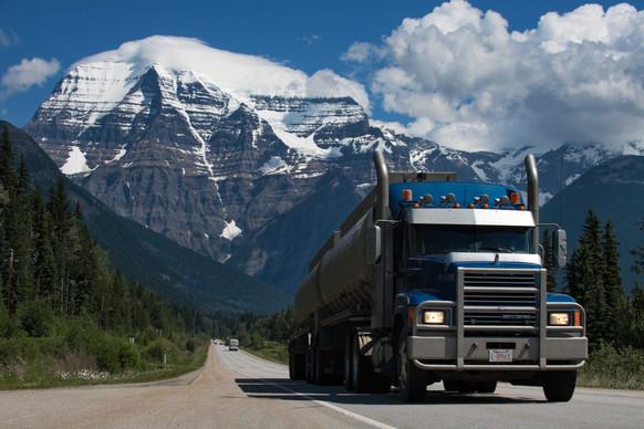 Mount Robson. BC