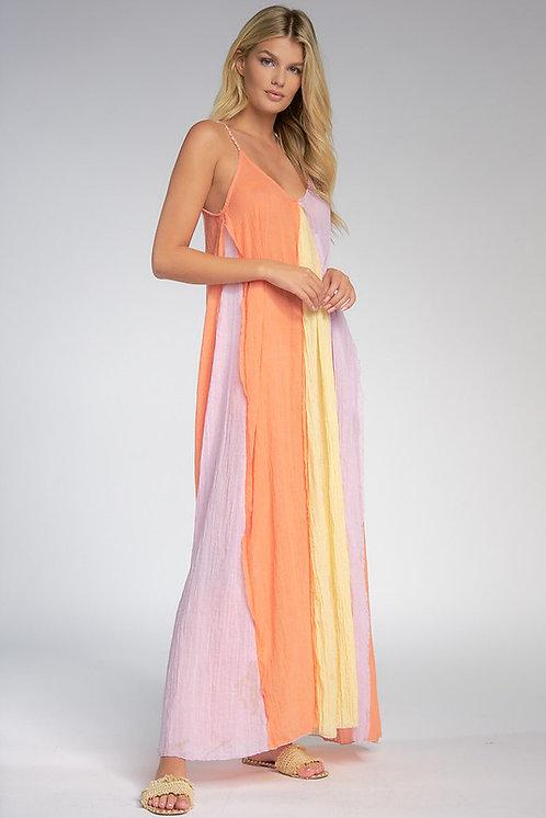 Vestido Maxi Lineas