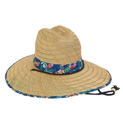 Sombrero Natural Floral
