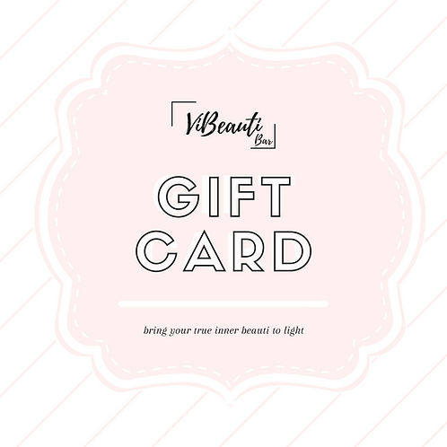 ViBeauti Gift Card - $50