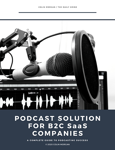 Podcast Solution for B2C SaaS Companies.