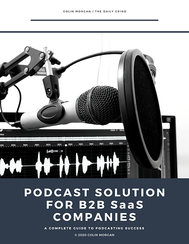 Podcast Solution for B2B SaaS Companies.