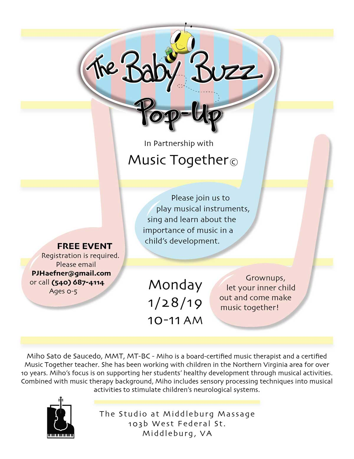 2019 Music Together Pop-up