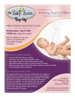 2019 Infant Massage Pop-up