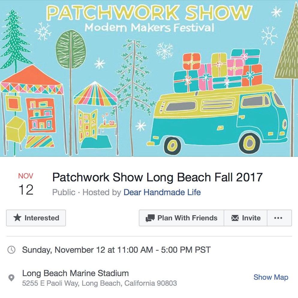 Patchwork Show  Long Beach 2017