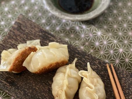 Gyoza- pork dumplings