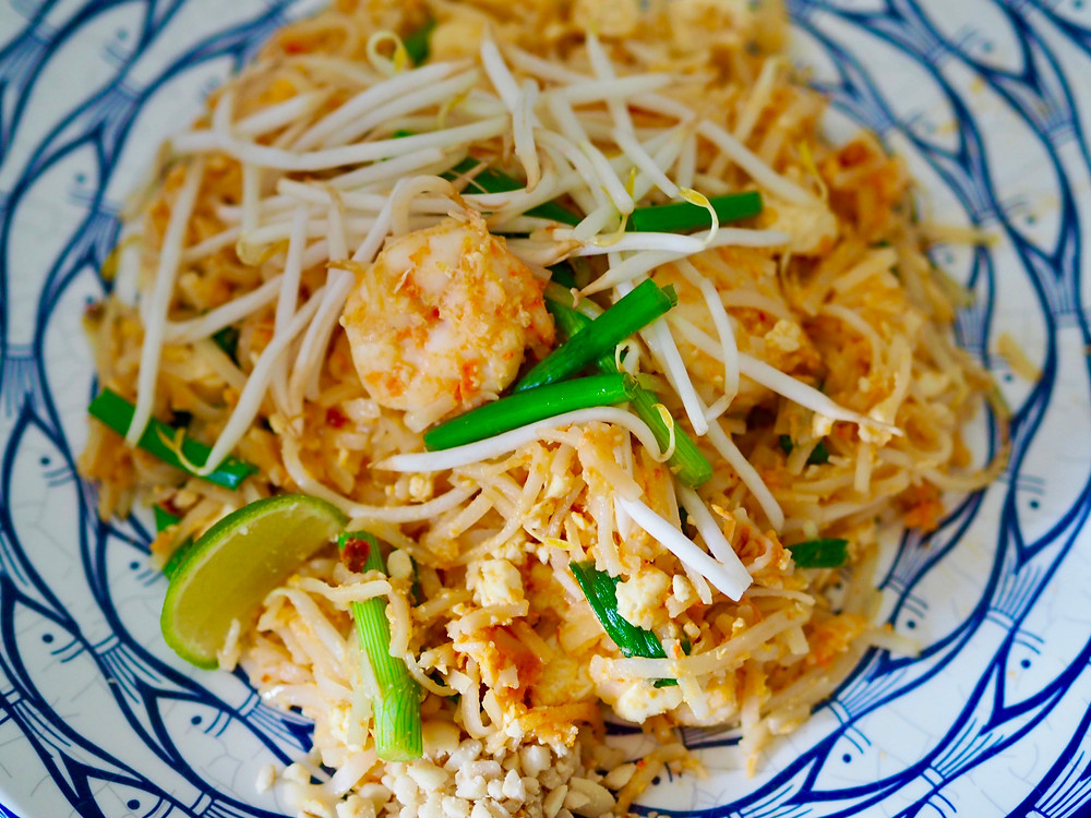 Pad Thai stir fry rice noodle