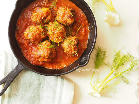 Beef and fennel Meatballs