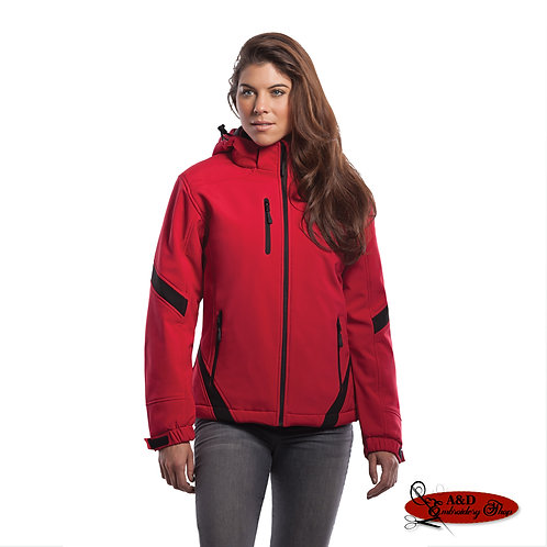 CX2 Typhoon - Women's Insulated Colour Contrast Softshell