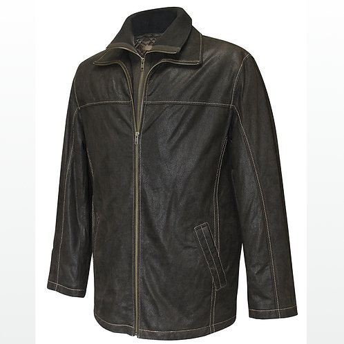 London - Men's Leather Jacket