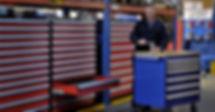 Gabinet Robusto Rousseau para almacenamiento modular en operaciones de manufactura y centros de distribución.