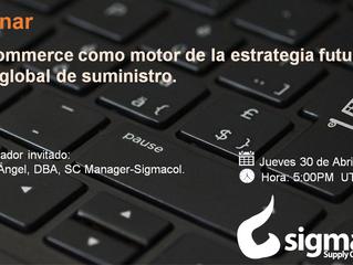 Webinar: El e-commerce como motor de la estrategia futura de la red global de suministro.