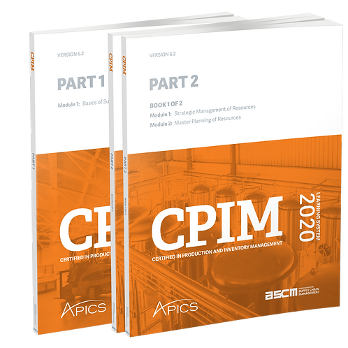 Programa de Actividades Complementarias APICS CPIM Parte 2