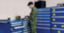 Gabinete modular Robusto Rousseau - Defensa y Seguridad.