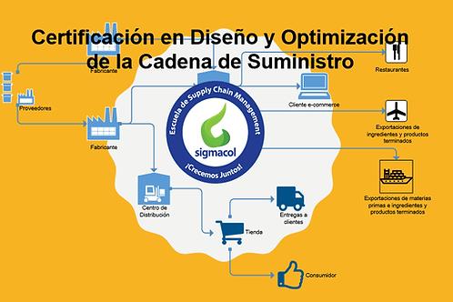 Certificación en Diseño y Optimización de la Cadena de Suministro