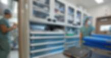 Estaciones y Gabinetes Rousseau - Sector Salud.
