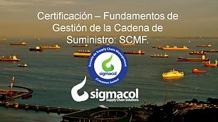 Certificación SCMF - Sigmacol - Repetido