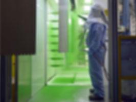 Los sistemas Rousseau tienen un proceso de pintura con mínimas emisiones.