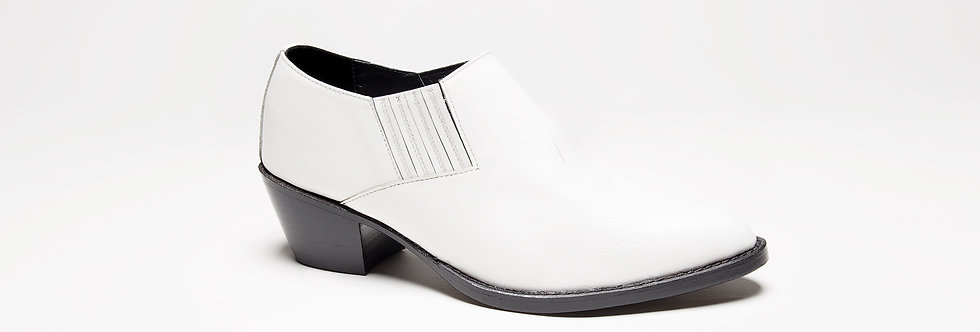 Stella Low Boot ( White )