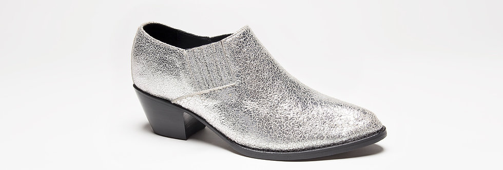 Stella Low Boot ( Silver )