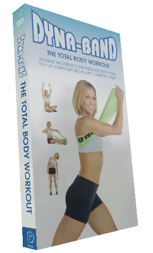 Dyna-Band total body workout DVD which will help you tone, strengthen and condition your whole body in just 10 minutes a day