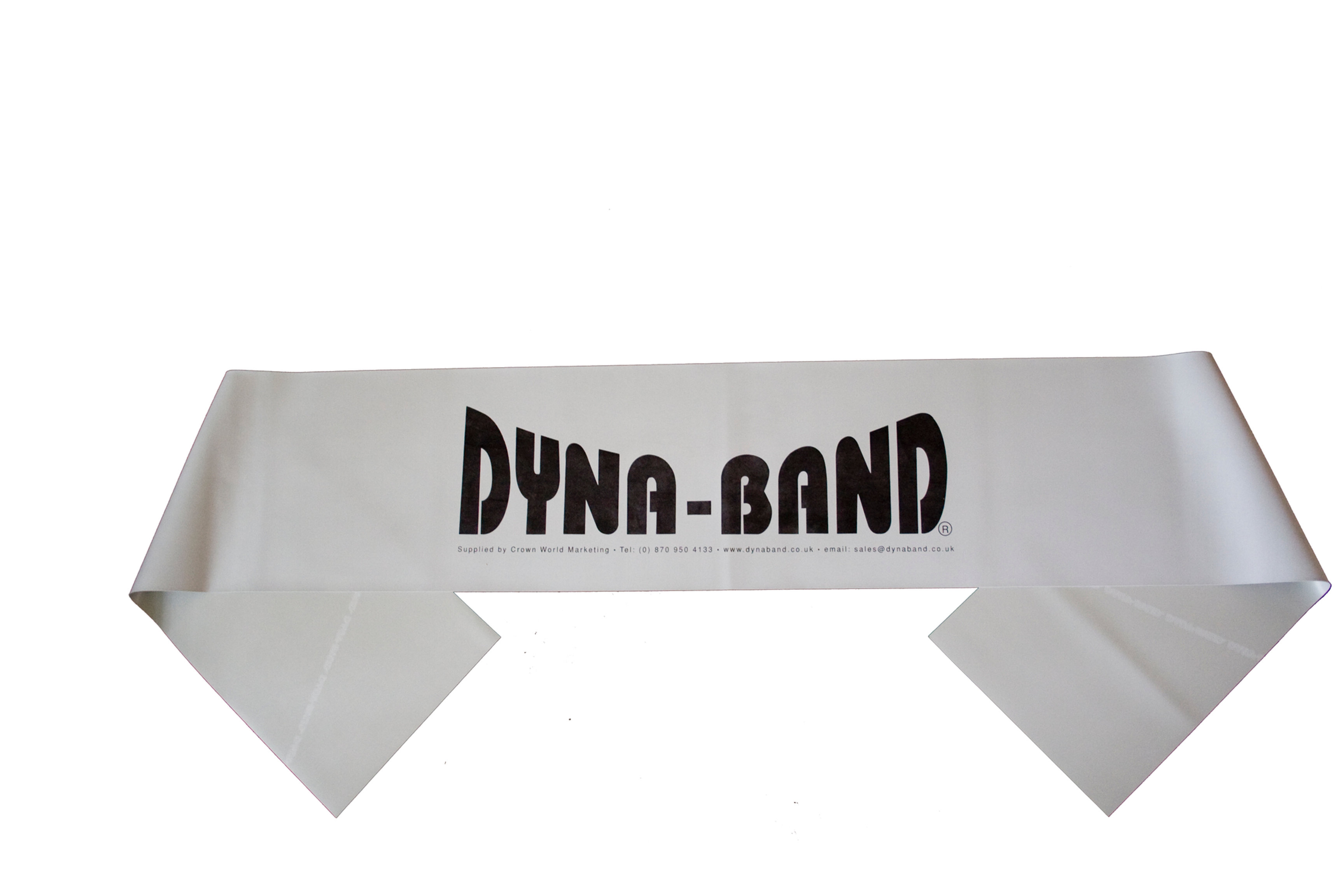 Resistance Band Ideal For Home Exercise CSA1 Dyna-Band Grey Extra Strong