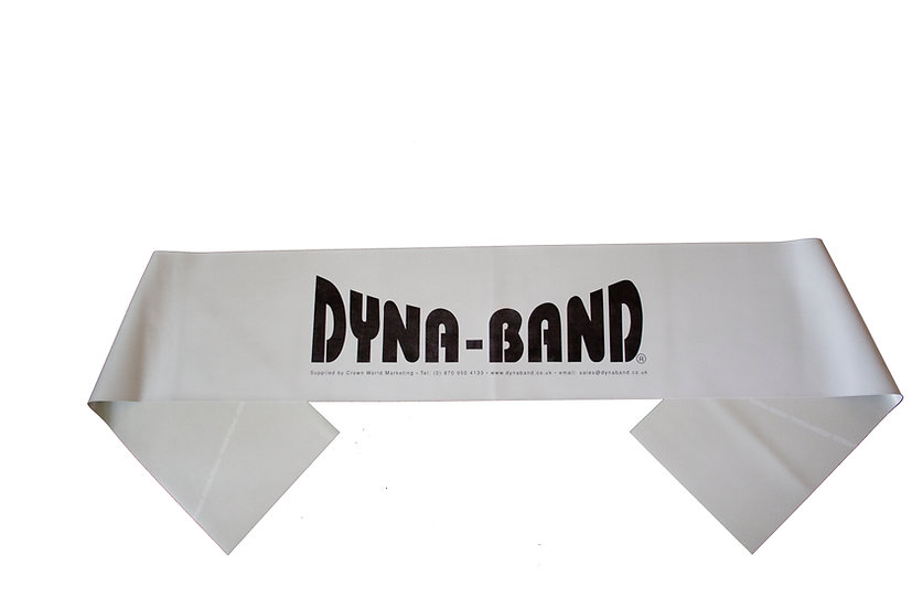 Grey Dyna-Band - Extra Heavy Strength - For the strong and athletic, can build and strengthen muscles