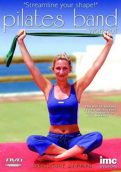 Pilates DVD & resistance band pack