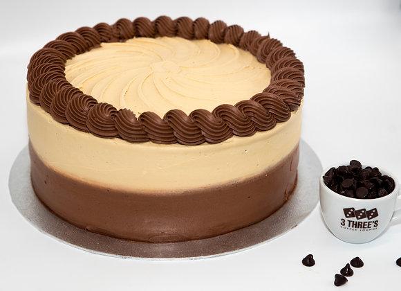 Mocha Cake (10 inch) - 16 x