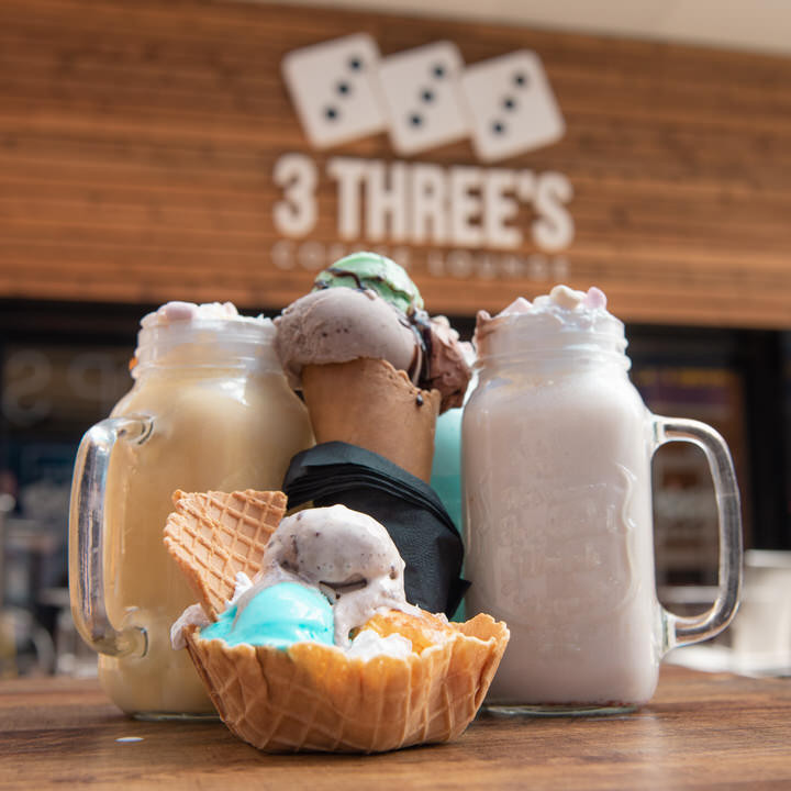 3 Three's Ice Cream & Shakes