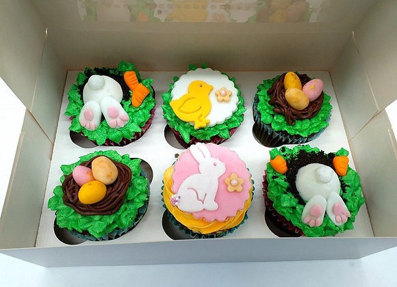 Easter Cupcake - Selection Box