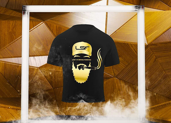 LSF - Lost in Smoke Forever Tshirt Gold