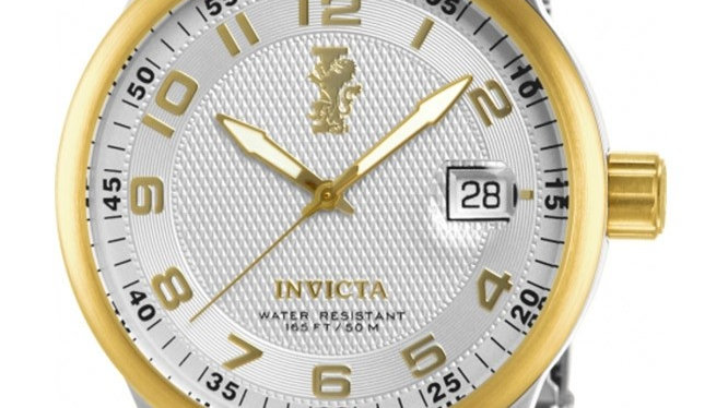 INVICTA I-FORCE QUARTZ WATCH - GOLD, STAINLESS STEEL CASE WITH STEEL, GOLD TONE