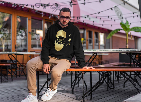 Male Hoodie - Gold Foil