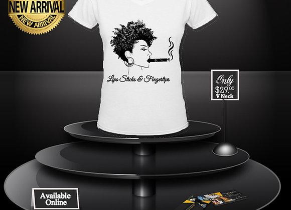 LSF Afrocentric T-Shirt (White/Black Imprint)