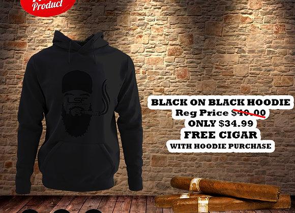 Black on Black Lost In Smoke Forever Hoodie