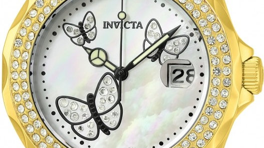 Invicta Angel Mother of Pearl Dial Ladies Watch