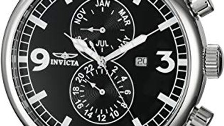 INVICTA SPECIALTY MENS QUARTZ 48MM STAINLESS STEEL CASE STAINLESS STEEL BAND - M
