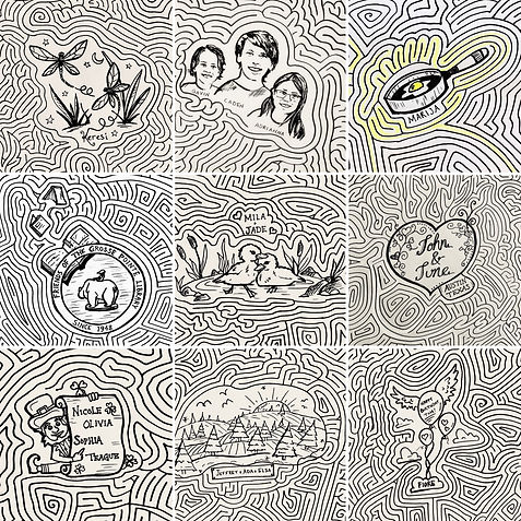 Largest Drawn Maze: Guinness World Recor