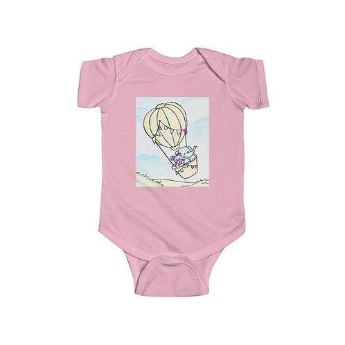Elephant & Bear Infant Jersey Bodysuit
