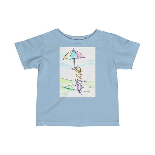 Two Bunnies Infant Jersey Tee