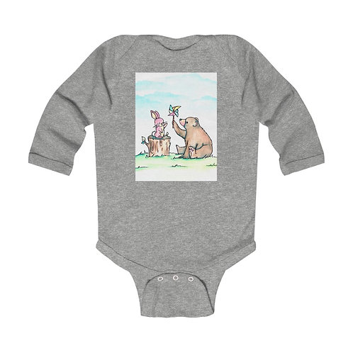 Bunny & Bear Infant Long Sleeve Bodysuit