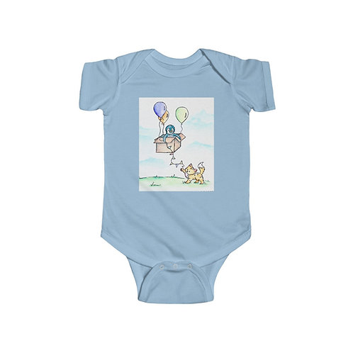 Penguin & Kitten Infant Jersey Bodysuit
