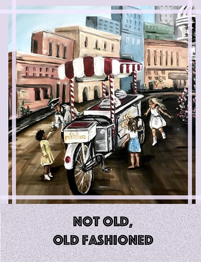 Old Fashion Greeting Card